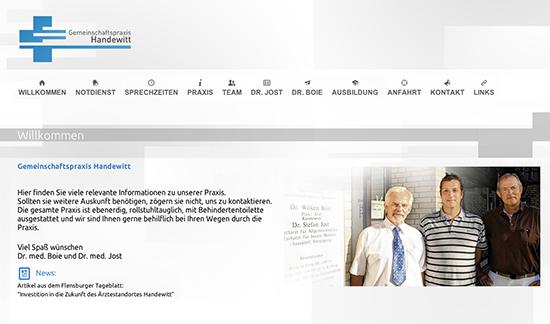 Logo & Website GP Handewitt