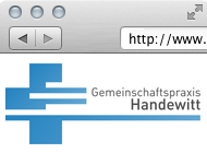 Logo & Website GP Handewitt